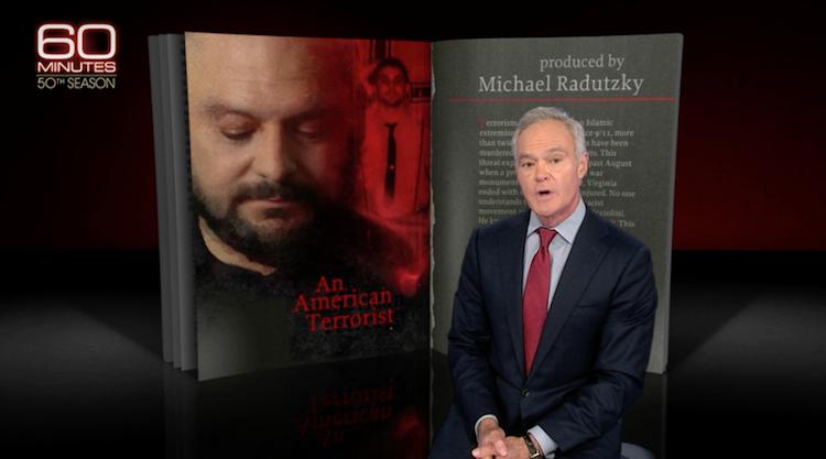 CBS 60 Minutes An American Terrorist Video