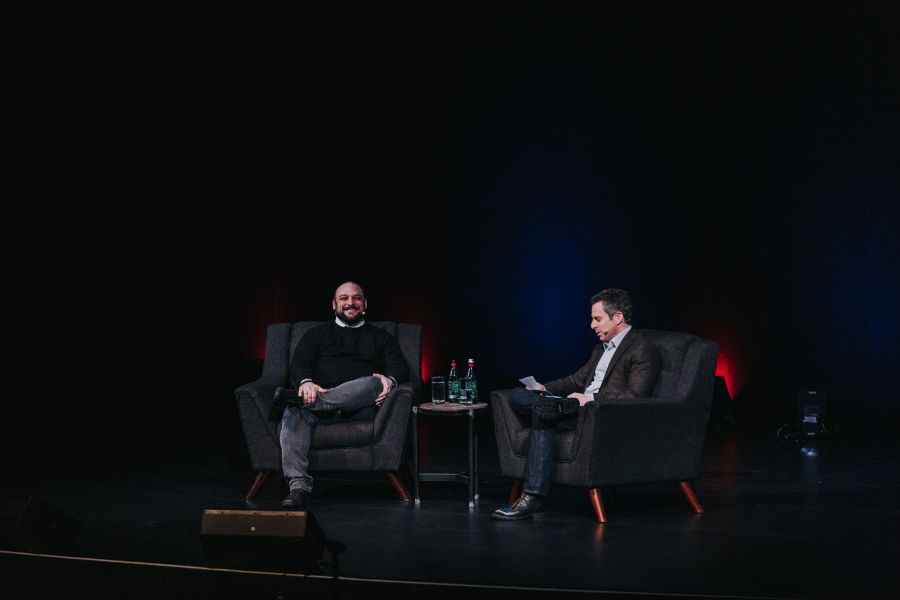 Christian Picciolini and Sam Harris