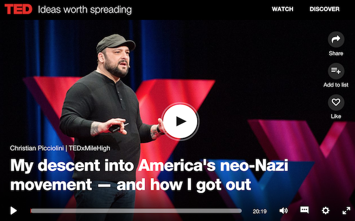 TED Talk: Christian Picciolini