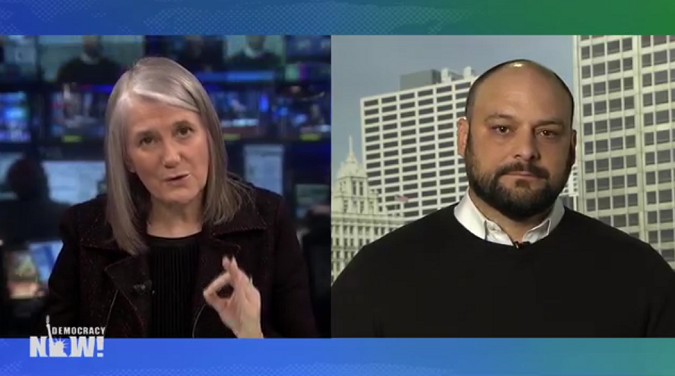 Amy Goodman and Christian Picciolini