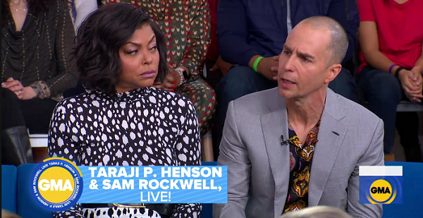 Sam Rockwell and Taraji Henson